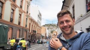 Lion in Quitos Altstadt